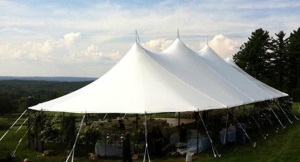 57 x 116 Stillwater Sail Cloth Tent (6,612 sq ft)